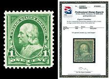 Scott 279 1898 1c Green Franklin Issue Mint Vf Og Nh with Pse Certificate!