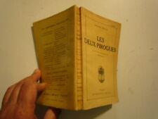 PIERRE RIVES LES DEUX PIROGUES ROMAN PAYS LOINTAINS MADAGASCAR ED CRES 1922