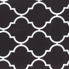 Quattro Grande Black White Geometric Fabric - Moda - Studio M - BTY - 32986 29