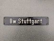 Lokschild Bw Stuttgart Gal Mg 3 Cu