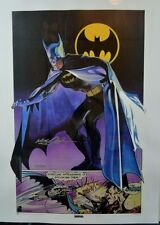 BATMAN Ltd Ed PRINT #73/100 HAND SIGNED Neal Adams Thought Factory w COA