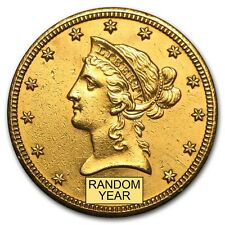 $10 Liberty Gold Eagle Pre-33 Gold Coin - Cleaned - Random Year - SKU #9121