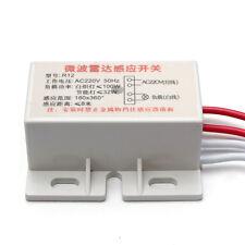 1PCS 220V IR Infrared Module Sensing Microwave Radar Body Sensor Switch Delay l