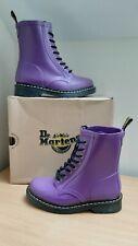 DR MARTENS DOC Martins Purple DRENCH Shower Rubber WELLIES UK5 EU38 US6 US7