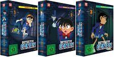 Detektiv Conan - TV Serie - Box 1-3 - Episoden 1-102 - DVD - NEU