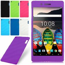 Silicone Rubber Soft Case Cover Skin For Lenovo Tab3 7 TB3-730F/730M/730X Tablet