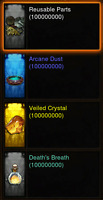 Diablo 3 ROS XBOX ONE All Cube Crafting Materials 10 Million Each + 1M Keystones