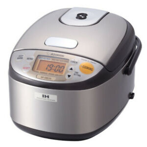 Zojirushi Induction Heating System Rice Cooker and Warmer (3-Cup) NP-GBC05X