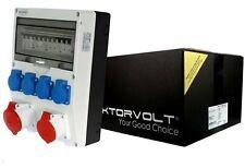 Stromverteiler SEZ Td-s/fi 2x16a 4x230 Wandverteiler Baustromverteiler 6565