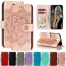 For LG K30 L3 W30 W10 K50 Stylo 5 Sunflower Wallet Flip Leather Phone Case Cover