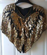 Vintage 100% Silk Butterfly Top