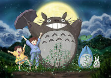 MY NEIGHBOUR TOTORO NEIGHBOR Photo Poster Print A4 260gsm