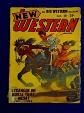 New Western 2 Issue Lot 1952