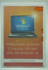 Microsoft Windows 7 Professional Pro 64 Bit Vollversion Deutsch