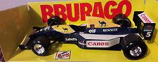 Bburago WILLIAMS RENAULT FW14 NIGEL MANSELL F1 Voiture 91 92 Grand Prix Senna 1/24