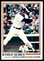 1978 Topps Reggie Jackson New York Yankees #413