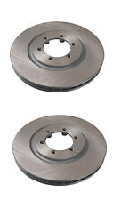 Ssangyong Rexton 2.7 2004 to 2006 front brake discs pair left and right hand