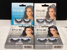 4 Eylure Vegas Nay Fake Eyelash Platinum Princess Grand Glamor Reusable