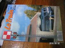 1µ? revue Le Train n°18 Rochers en platre 222 TA EPINAL BB 9300 Gare de Dole 4/4