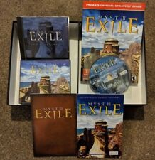 Myst III Exile - Collector's Edition, Complete, Rare - Big Box PC + Mac CD-ROM