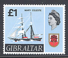 Gibraltar 1967 Ships Definitive set Sc# 186-99 NH