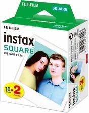FUJIFILM  INSTAX SQUARE  Film  DoppelPack   MHD/expiry date 02/2020 SONDERPREIS