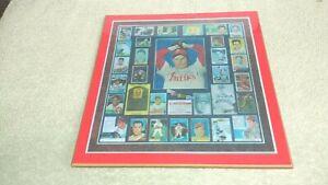 Robin Roberts Baseball Cards Plaque