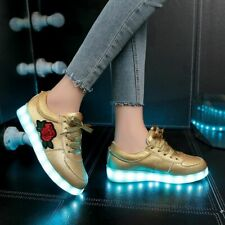 Kids USB Luminous Sneakers Girls Boys Shoes With Light 2020