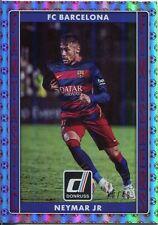 Donruss Soccer 2015 Red [49] Fantastic Finishers Chase Card #10 Neymar Jr