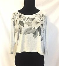 AllSaints Kyo Yale Grey Marl Top. NWT Retails $65 Price $29 Size S All Saints