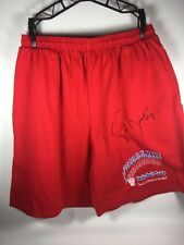 Detroit Pistons Joe Dumars Signed Basketball Camp Gym Shorts