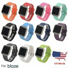 Fitbit Blaze Replacement Silicone Rubber Band Strap New Free Shipping