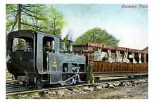 pt4090 - Snowdon Mountain Railway Train , Wales - photograph 6x4