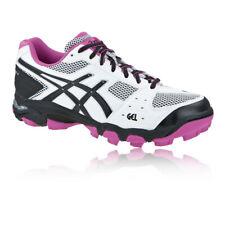 Asics Womens LADY GEL-BLACKHEATH 4 Hockey Shoes Pitch Field White Sports
