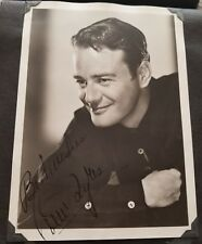 Lew Ayres Autographed vitage 5x7 photo black and white