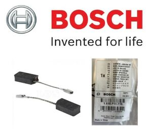 BOSCH Genuine 1619P11715 Carbon Brushes (To Fit: GWS 9-115S Angle Grinder Only)