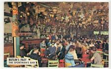 THE SPORTMAN'S BAR: Butlin's Filey postcard (C50822)