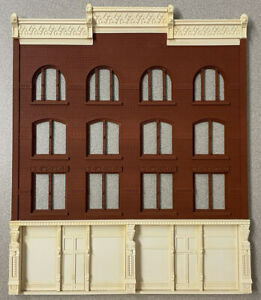 """Chooch """"Ultra Scale"""" O Scale Factory Facade 4 Story Big City Building Front RARE"""