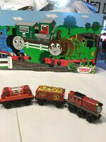 Thomas Friends Wooden Railway Train, Salty, Gold Sifting Car And Gold Car