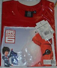 TEE SHIRT BIG HERO TAILLE 4 ANS ROUGE DISNEY MAILLOT PAS FIGURINE