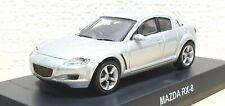 Kyosho 1/64 MAZDA RX-8 SILVER diecast car model