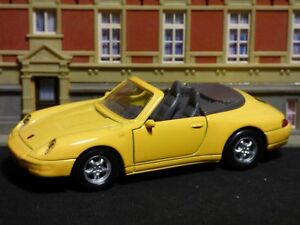 Rarely, 1:3 8, WELLY, 49722, Porsche 911 Carrera Cabriolet, Showcase Model,