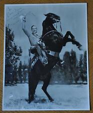 GENE AUTRY SINGING COWBOY / WESTERN ACTOR SIGNED VINTAGE PHOTO AUTOGRAPH