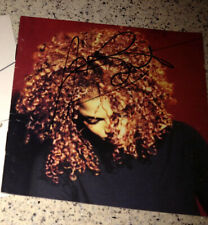 JANET JACKSON SIGNED IN-PERSON THE VELVET ROPE CD COVER -- AUTHENTIC, VIP, RARE