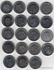 ESPAÑA: LOTE 50 CENTIMOS FRANCO (10 MONEDAS). AÑO 1966. BC+. A IDENTIFICAR.