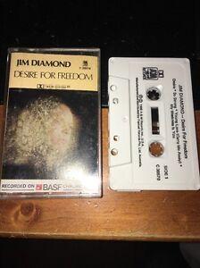 JIM DIAMOND DESIRE FOR FREEDOM Cassette Tape