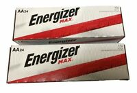 Energizer Max E91-VP AA  Alkaline Batteries 24 pack X 2(48 batteries)Exp.12/2029