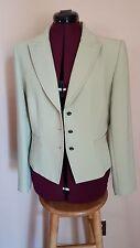 Tahari women's jacket.  Gorgeous green business jacket SZ 8