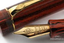 Conway Stewart Churchill grano de madera Marlborough estilográfica vintage #011/300