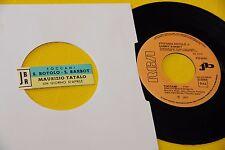 """STEFANIA ROTOLO 7"""" TOCCAMI 1972 NM JB CON STICKER"""